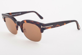 Tom Ford HARRY 597 56E Havana / Brown Sunglasses TF597-56E HARRY-02 - $195.02