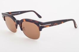 Tom Ford HARRY 597 56E Havana / Brown Sunglasses TF597-56E HARRY-02 - $195.02