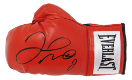 Floyd Mayweather Jr. Signed Everlast Red Boxing Glove - $350.00