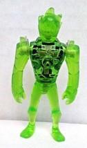 CN Ben 10 Alien Creation 2in Mini Action Figure Clear Green HEATBLAST - $16.00