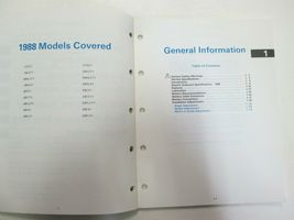 1988 Johnson Evinrude Electric Outboard Service Manual OEM Boat 507658 *** image 4