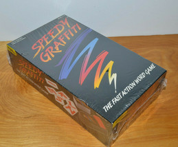 VINTAGE SPEEDY GRAFFITI WORD GAME TIGER MISB NEW SEALED 1991 FAMILY GAME... - $9.55