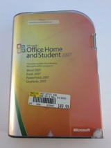 Microsoft Office Home and Student 2007 GENUINE X12-09054-02 Win 7/8/10 w... - $24.74