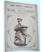 Boston Herald War Pictorial November 1914 WWI military newspaper - $16.00