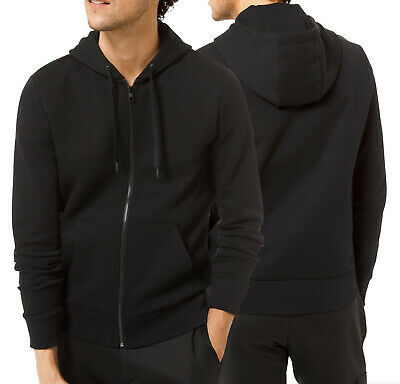 Men's Classic Solid Lightweight Sweatshirt Soft Jersey Full Zip Up Hoodie Jacket