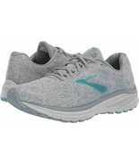 Brooks Womens Anthem 2 Grey Teal Knit  Running Walking Shoes Sneakers 6 ... - $69.99