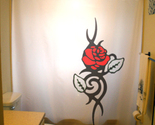 Flower red rose shower curtain  75 thumb155 crop