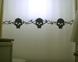 Skulls and thorns shower curtain  75 thumb155 crop
