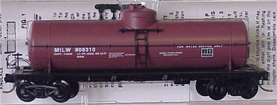 Micro Trains 65280 Milwaukee MOW Tank Car 908310