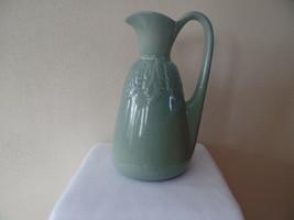 Red Wing Pottery Pitcher 1939 #922 Celadon Green Belle Kogan Design - $89.30