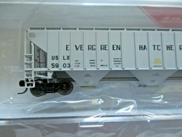 Intermountain # 653109 Evergreen Hatchery Inc. 4750' 3-Bay Covered Hopper (N) image 2