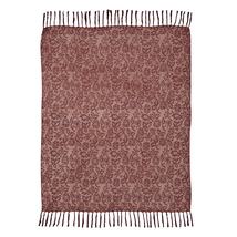 "BERKELEY Chenille Jacquard Woven THROW - Farmhouse Fancy! - 60x50"" - VHC Brands"