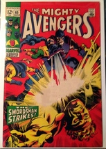 Avengers (1963) # 65 VF VERY FINE Condition Marvel Comics Mile High II Copy - $74.95