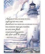 Matthew 7:7-8 Verse Flex Magnet by Leanin' Tree - $8.00