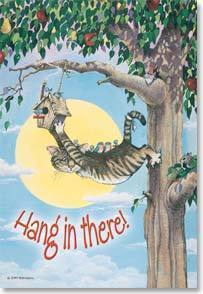 Hang In There! Flex Magnet by Leanin' Tree