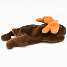 1993 TY Beanie Baby Original Chocolate the Moose PVC Beanbag Plus Toy Doll image 3