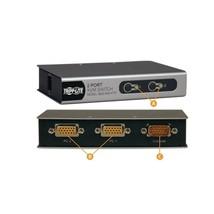 Tripp Lite 2-Ports Desktop KVM Switch w/ 2 KVM Cable Kits (PS2) B022-002... - $40.21