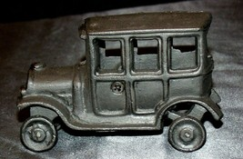 Old Vintage Cast Iron Car Replica AA20-2177b Vintage Collectible