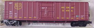 Micro Trains 27200 Wisconsin Central 50' Boxcar 27114