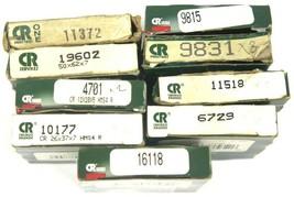 LOT OF 16 NIB CHICAGO RAWHIDE OIL SEALS 9831, 16118, 11518, 10177, 16118