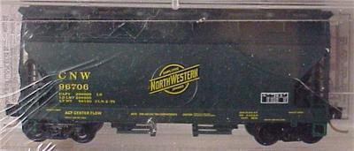 Micro Trains 92100 Chicago & North Western Hopper 96706