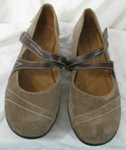 Naturalizer Womens Mary Janes Shoes Brown Suede Leather Nelson Size 7M - $21.77