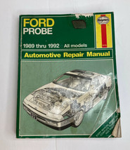 Haynes Repair Manual Ford Probe 1989-1992 All Models - $5.12