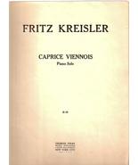 Caprice Viennois-Piano Solo - $30.00