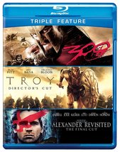 Alexander Revisted/Troy/300 (Blu-ray Disc, 2012, 4-Disc Set)