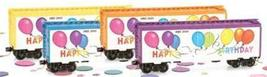 Micro Trains 02100500 Happy Birthday 40' Boxcar Yellow - $24.75