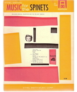 Music for the Spinets Book 4 (All Organ Edition) - $15.00