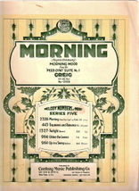 Morning From the Peer Gynt Suite No. 1. - $12.00
