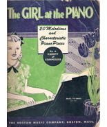 The Girl at the Piano: 20 Melodious and Characteristoc Piano - $12.00
