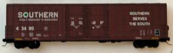 Micro Trains 103080 SOU 60' Boxcar 43490