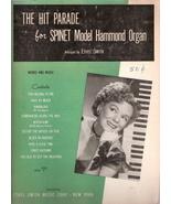 The Hit Parade for Spinet Model Hammond Organ - $10.00