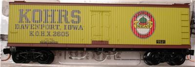 Micro Trains 49110 Kohrs Meat 40' Reefer 2605