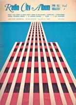 Radio City Album for All Organs Vol. 1. - $9.00
