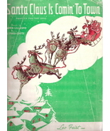 Santa Claus is Comin' to Town - $25.00