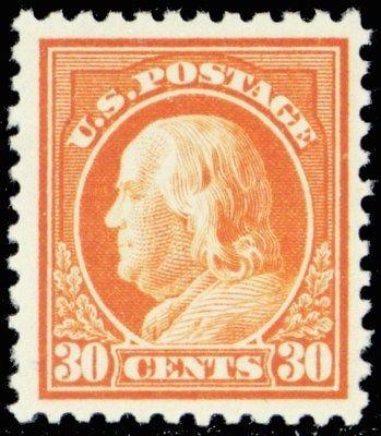 516, Mint VF NH 30¢ Franklin Stamp Cat $70.00 - Stuart Katz