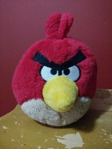 """Angry Birds Red Bird Terence Stuffed Plush no Sounds New 6"""" - $9.90"""