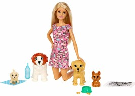 Barbie Doll & Pets - Doggy Daycare playset - $75.23