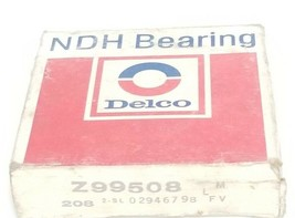 NIB NDH DELCO Z99508 BALL BEARING, 40 X 80 X 18 MM