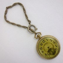 Antique 1918 Illinois 12s 17j Open Face Pocket Watch Working Condition - €116,32 EUR