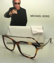 New Michael Kors Eyeglasses Audrina Iv Mk 4033 3176 54-17 Tortoise Gold & Silver - $119.99