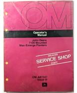 VTG John Deere 7100 Mount Max Emerge Planters Operators Manual Dealer Co... - $17.90
