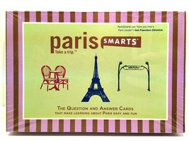 Paris Smarts Question & Answer Cards Make Learning Fun Easy Pocket Trave... - $4.94