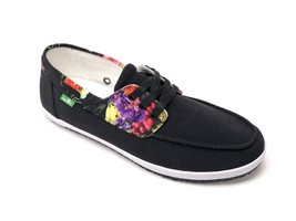Sanuk Men's Casa Barco Funk Black Amazon Tropic Lace Up Loafer Size 9 SMF11192L - $39.99