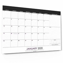 "Wordsworth & Black 2020 Monthly Desk/Wall Calendar 17"" x 12""- Desktop Pa... - $17.40"