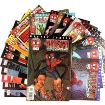 Spider-Man's Tangled Web 21 Comic Book Lot VF NM Marvel #1 Rhino Kingpin... - $34.60