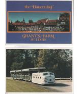 Two Grant's Farm St. Louis Postcards/ Blank Backs 1983-1984 - $1.75